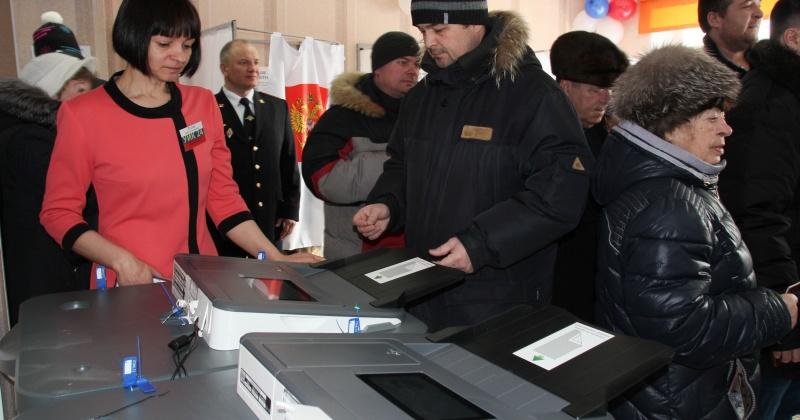 Явка избирателей на участки Магаданской области на 15.00 часов по местному времени составила 54,69%