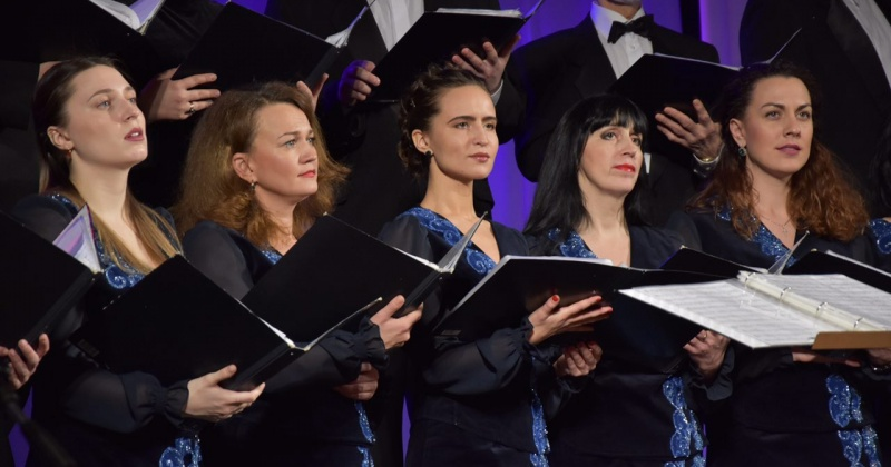 Хоровая капелла имени Евгения Алхимова готовится к отчётному концерту