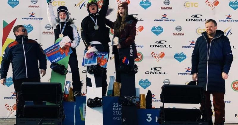 «Серебро» в копилку магаданских спортсменов добавила Александра Паршина