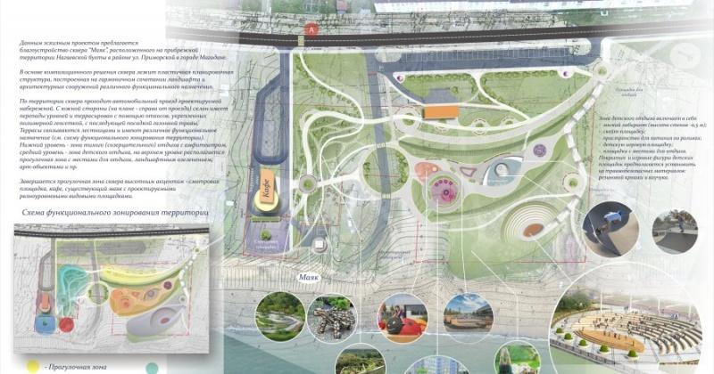 Магаданский парк «Маяк» участвует во Всероссийском конкурсе лучших проектов в сфере создания комфортной городской среды