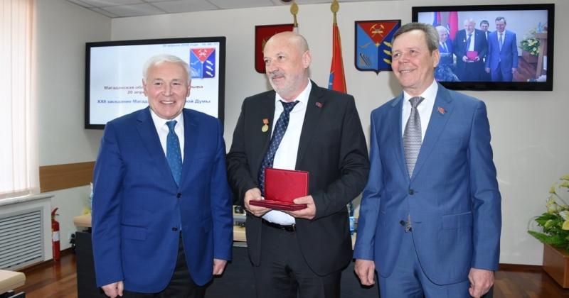 Депутаты Леонид Мурин и Сергей Замараев удостоены почетных наград