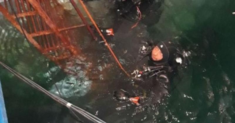 Магаданские спасатели – водолазы прошли экзамен на профпригодность
