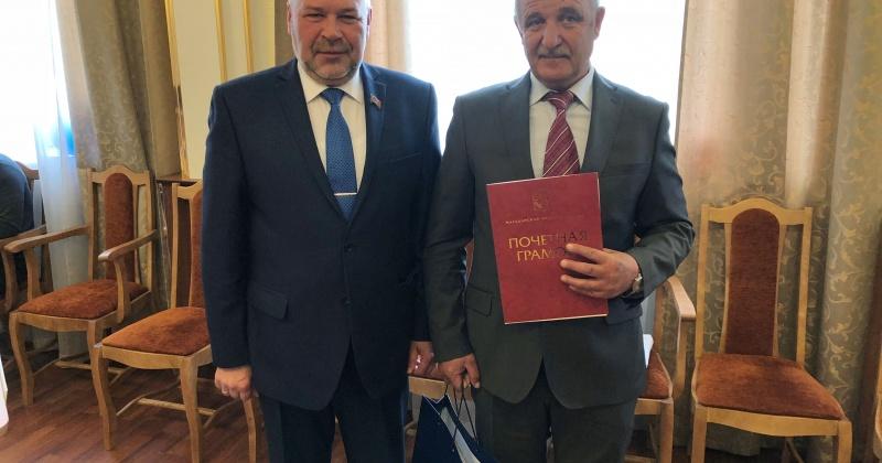 Первый заместитель председателя Магаданской областной Думы Андрей Зыков принял участие в заседании Собрания представителей Ягоднинского городского округа