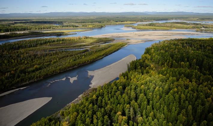 На реке Колыма ожидается повышение уровня воды