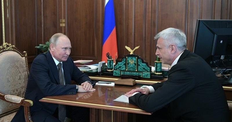 Президент Владимир Путин встретился с врио главы Магаданской области Сергеем Носовым