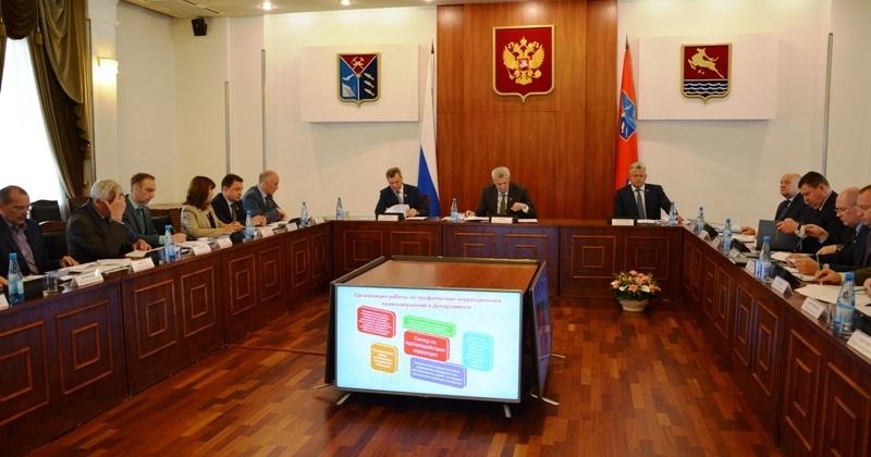 В правительстве региона состоялось заседание Комиссии по координации работы по противодействию коррупции в Магаданской области