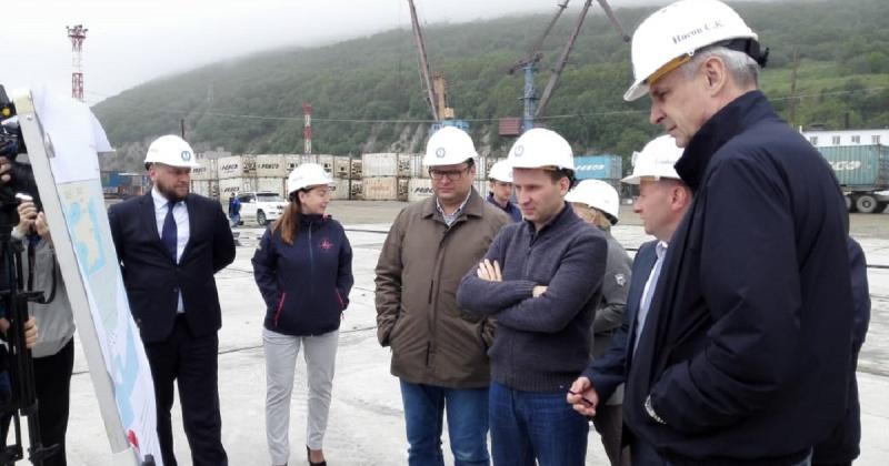 После ввода в эксплуатацию причалов, грузооборот магаданского торгового порта увеличится в два раза
