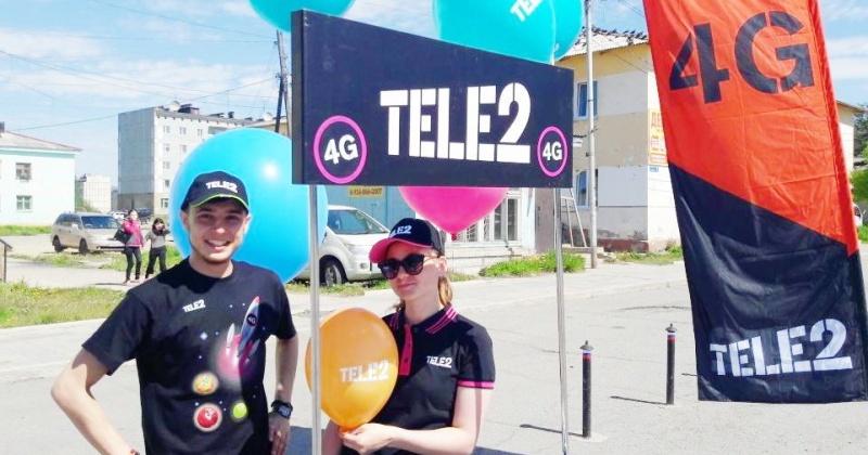 Tele2 провела «День открытых людей» в Магадане