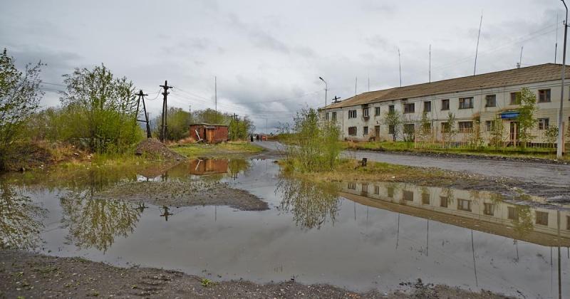 Дождевой паводок вызвал поддопление в Сусумане