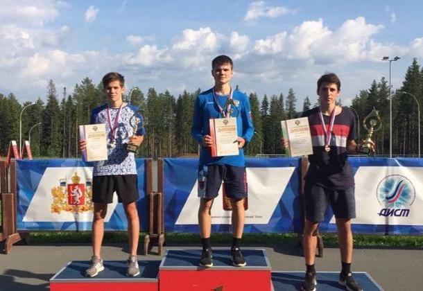 Магаданец стал победителем Первенства России по лыжному двоеборью среди юниоров