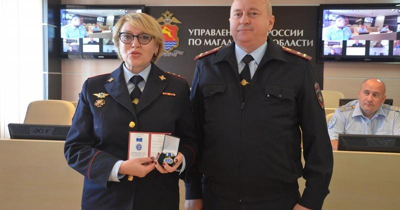 Сотрудницы полиции города Магадан удостоены медали «На защите прав детей»