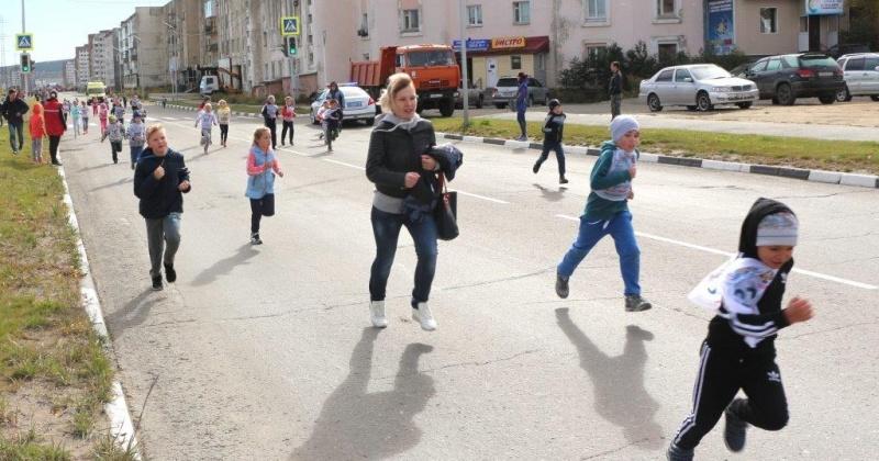 Более тысячи жителей Магадана приняли участие в «Кроссе нации-2018»