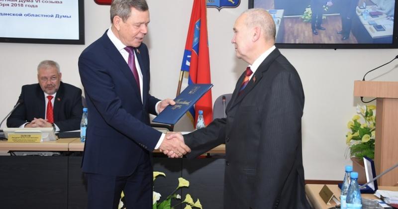 Депутатский корпус поздравил Ивана Субботина с юбилеем
