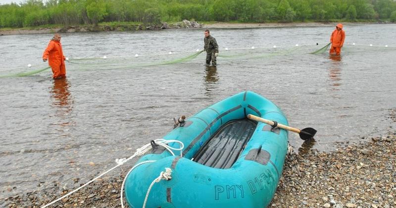 В Магаданской области завершилась навигация для гребных маломерных судов