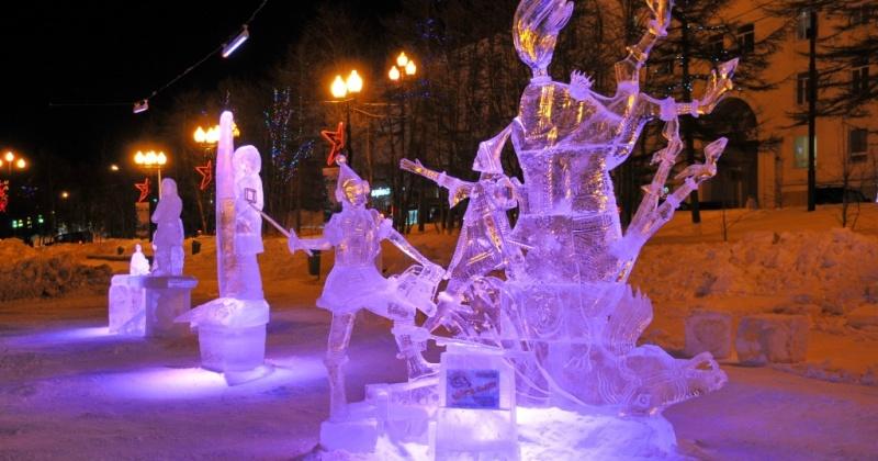 Объявлен XII международный конкурс ледовых скульптур «Магаданский хрусталь»