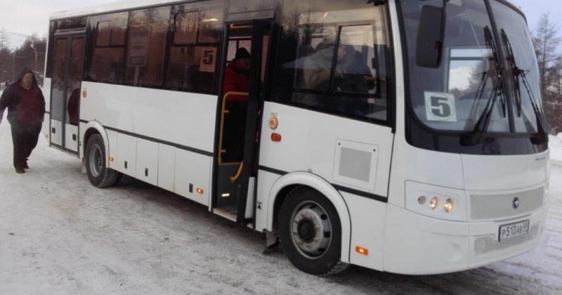 Маршрут магаданского автобуса № 5 продлен  на 1,2 км