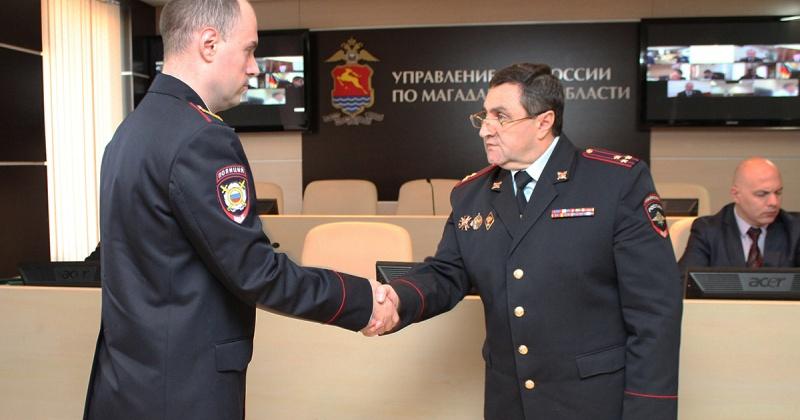 Полиция Магаданской области пополнилась двумя офицерами