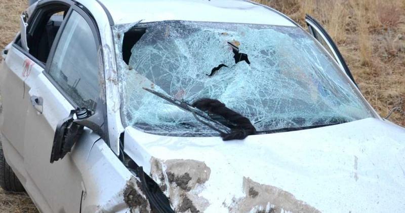 Мать погибла в машине, которой управлял пьяный сын