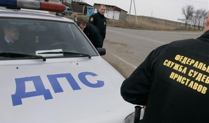 Разысканный автомобиль должника по алиментам арестован