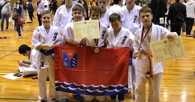 Серебро и бронзу взяли магаданские каратисты на первенстве в Японии