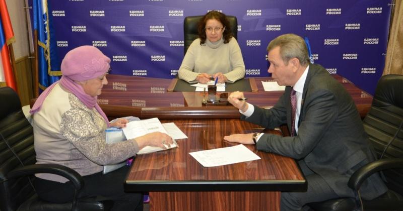 Сергей Абрамов провел прием граждан по личным вопросам