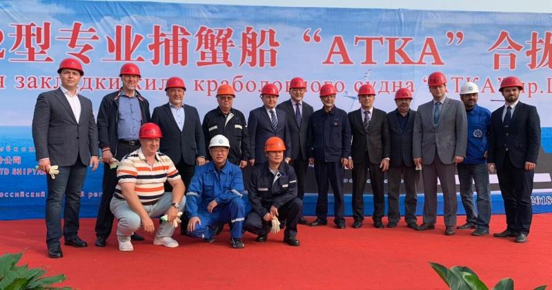 «Тихрыбком» начал строительство нового судна