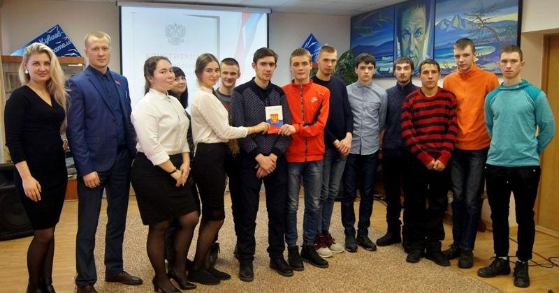Час правовых знаний провели активисты Молодежной общественной палаты для студентов Горно-строительного колледжа