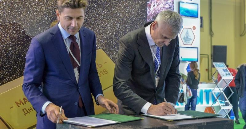 Правительство Магаданской области и группа «Полюс» подписали соглашение о социально-экономическом сотрудничестве