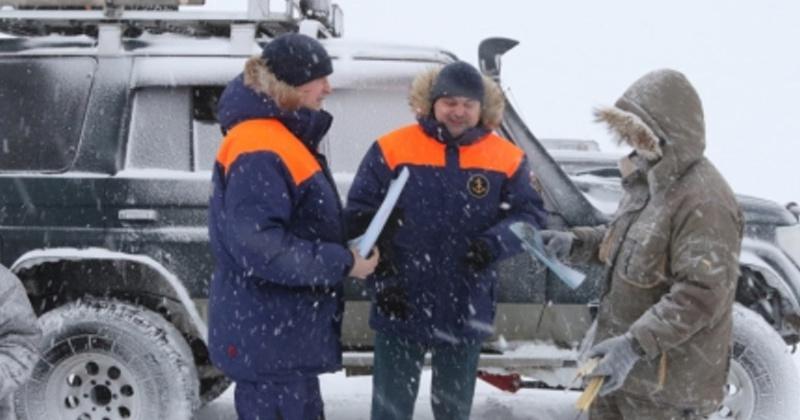 """В Магаданской области начался второй этап профилактической акции """"Безопасный лед"""""""