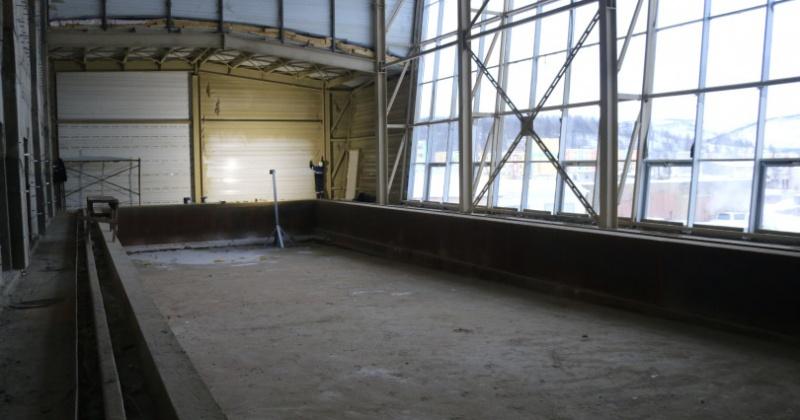 Сергей Носов: Бассейн в Палатке вместе с благоустройством должен быть закончен до середины июня