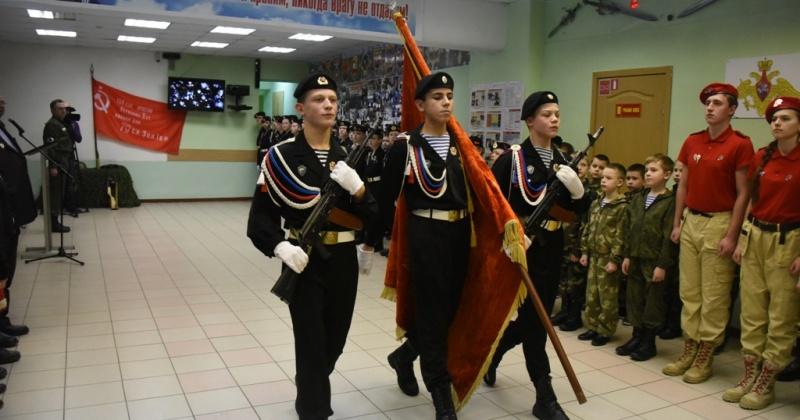 Курсанты центра «Подвиг» встретились с ветеранами Великой Отечественной войны и жителями блокадного Ленинграда