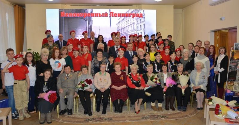 Колымчан-жителей блокадного Ленинграда поздравили с 75-й годовщиной снятия блокады