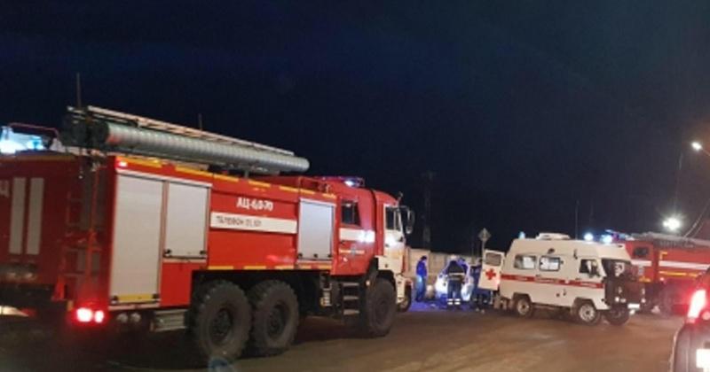 В  Магадане погибла женщина-водитель после столкновения с пожарным автомобилем