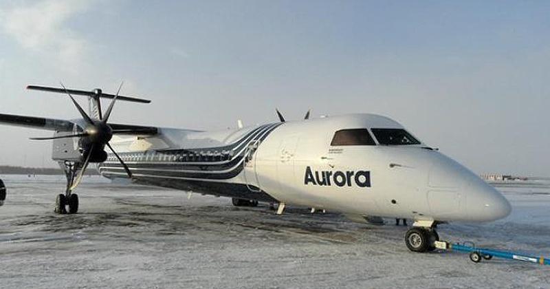 На Чукотке пассажирский самолет, совершавший рейс из Магадана, при посадке  выкатился за пределы ВПП