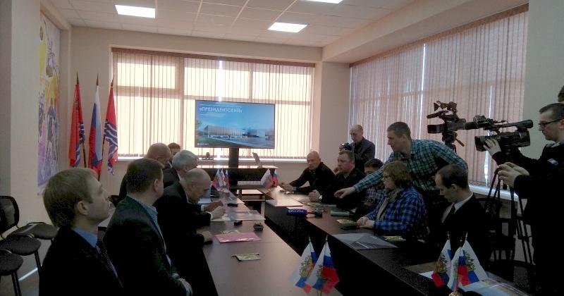 В Магадане состоялась презентация проектов ФОК «Президентский» и Спортивный комплекс в п. Снежный на базе «Северного Артека»