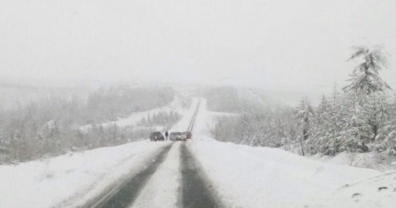 На территории Магаданской области ожидается ветер, метель, снег