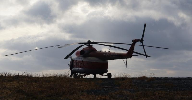 В Эвенске будет базироваться вертолёт для оперативного решения экстренных ситуаций