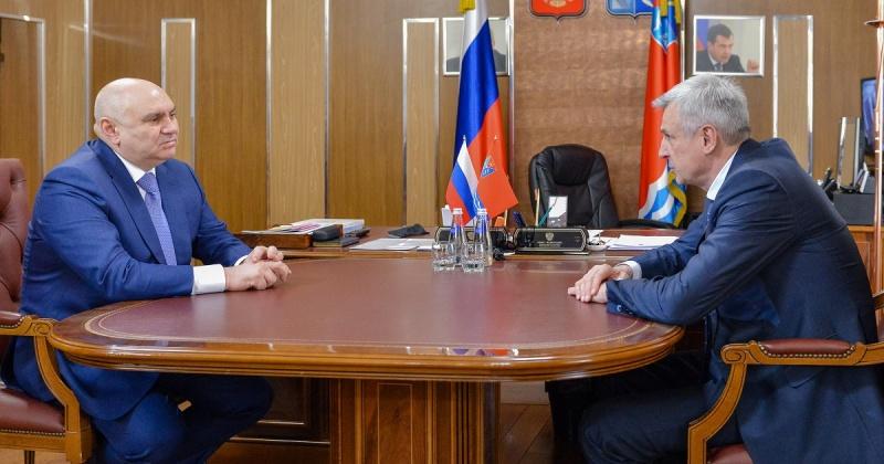 Губернатор Магаданской области встретился с первым заместителем министра сельского хозяйства РФ