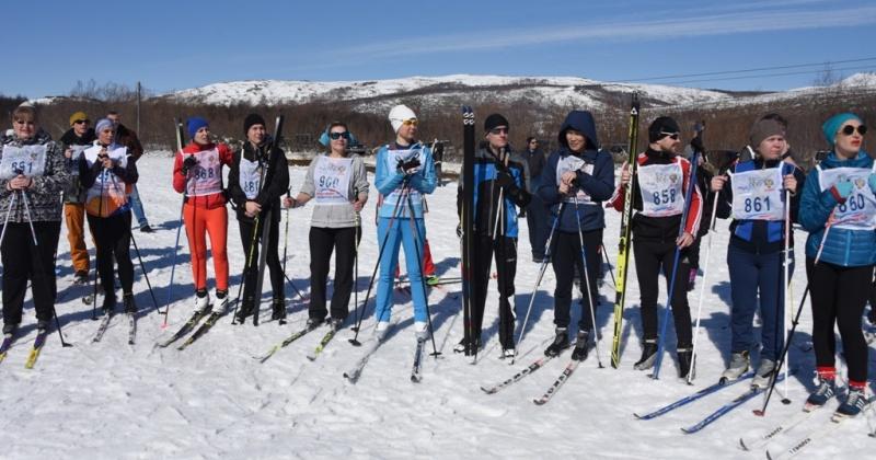 В выходные в рамках городской спартакиады трудящихся прошли соревнования по лыжным гонкам