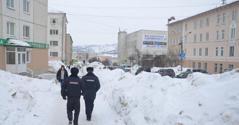 Условия проживания детей в одном из общежитий по улице Пролетарской проверили полицейские Магадана