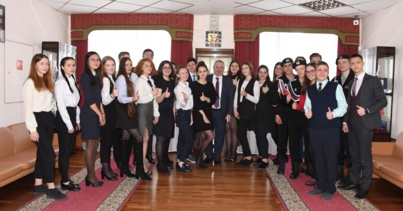 Юрий Гришан встретился с волонтерами в рамках Всероссийской акции «Неделя без турникетов»