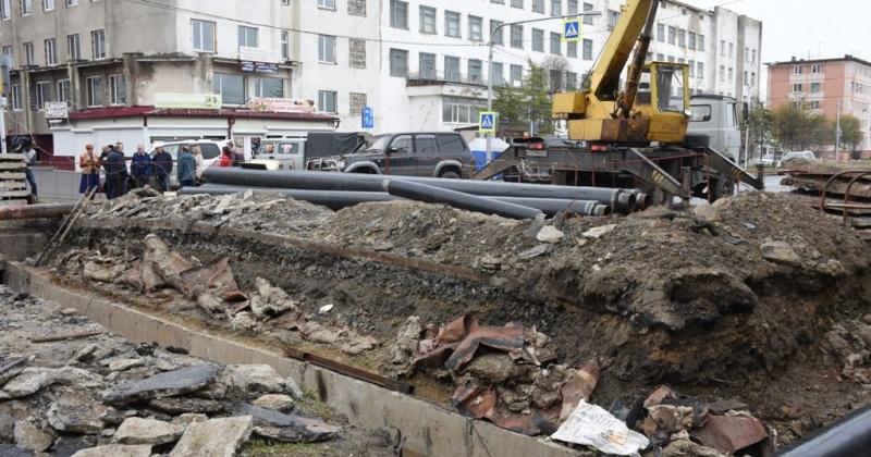 В Магадане начинается ремонт теплосетей и труб холодного водоснабжения на улицах города