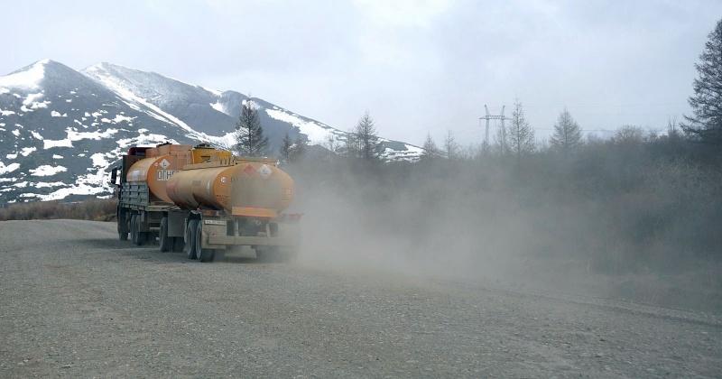 Минтранс Магаданской области проверит качество обеспыливания трассы «Колыма»