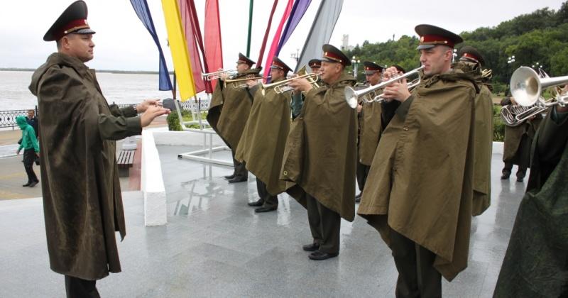 Выступление военного оркестра штаба Восточного округа войск Росгвардии услышат магаданцы