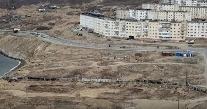 """За ходом строительства парка """"Маяк"""" в Магадане будет следить Минстрой РФ через видеокамеру"""