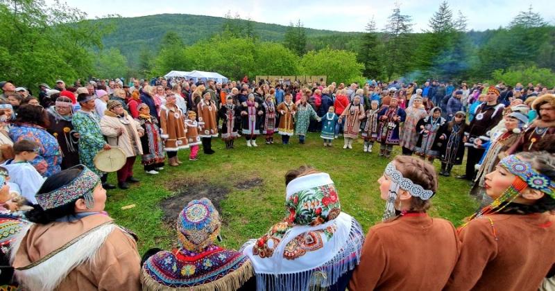 Магаданцы встретили эвенский новый год (Видео)