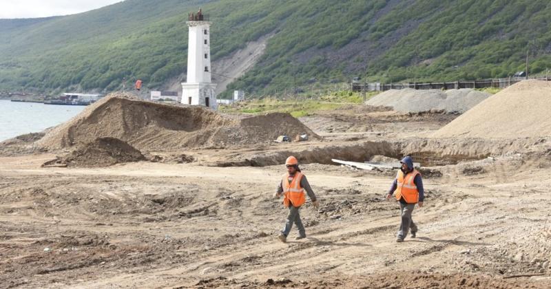 Основное строительство парка «Маяк» в Магадане планируется завершить в ноябре 2019 года