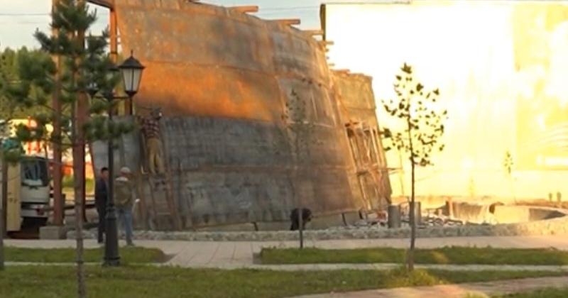 Водопад в Палатке как в Дубае построит Александр Басанский
