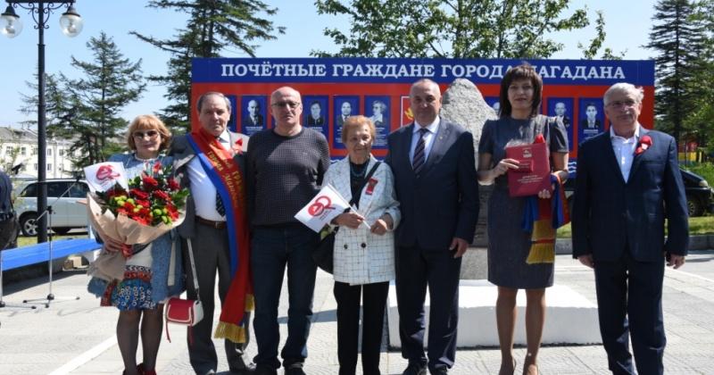 Звания «Почетный гражданин города Магадана» присвоены Михаилу Суханкину и Владимиру Барляеву (посмертно)
