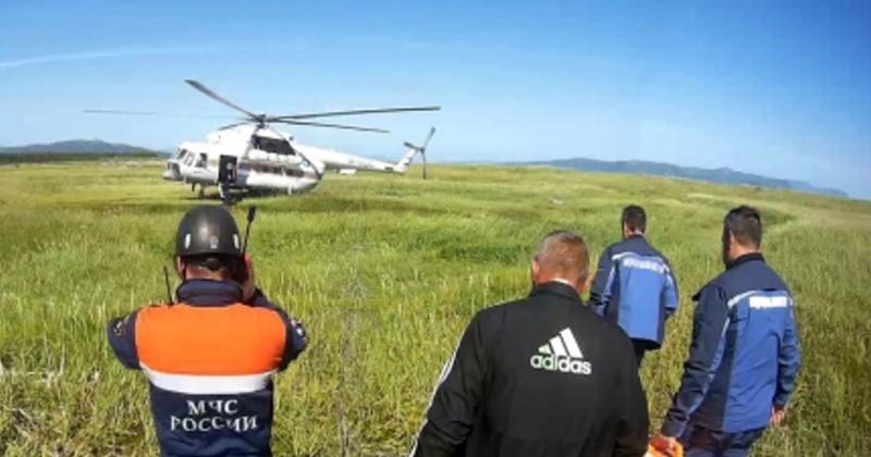 Мужчину получившего травмы эвакуировали магаданские спасатели с Мотыклея